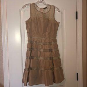 Rye dress. Lace top.